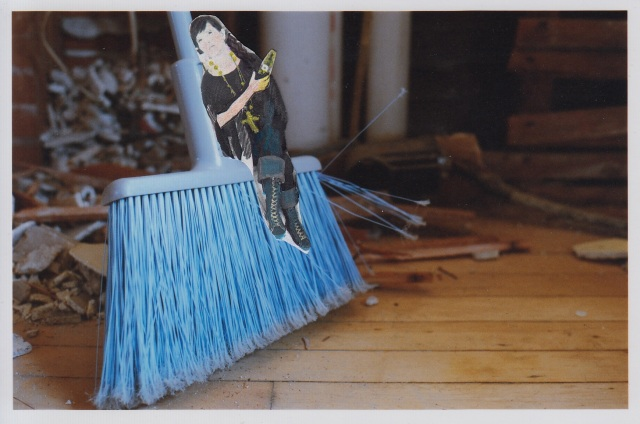 julie and the broom