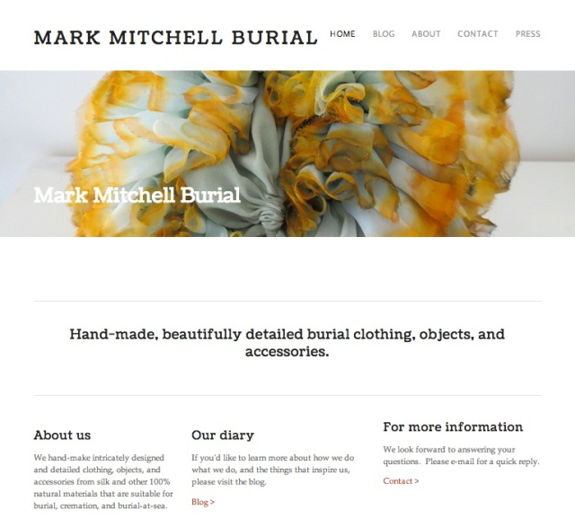 mark mitchell burial