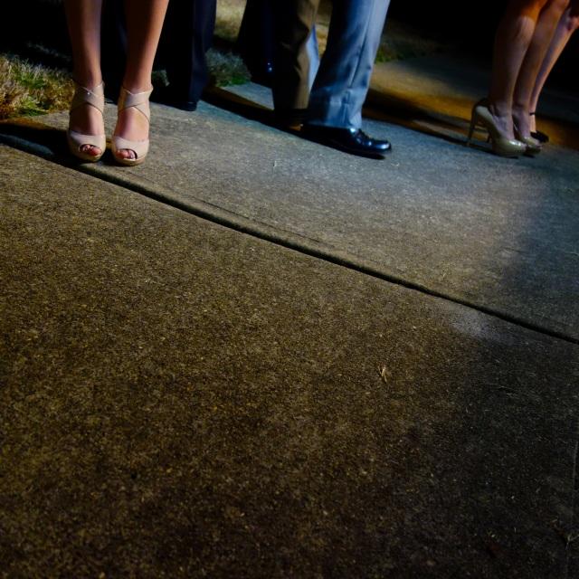 nude sandals ii