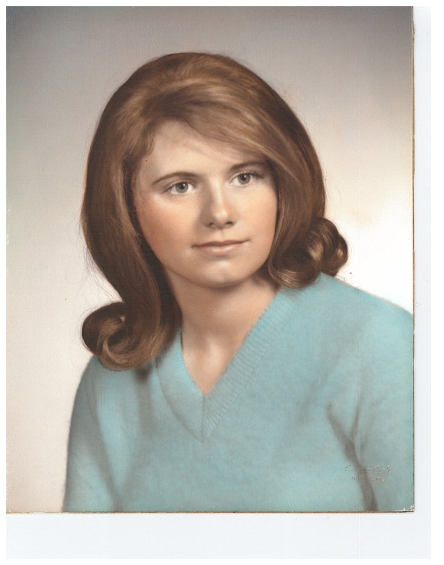 Terri. 1966. Sans cat-eye glasses.