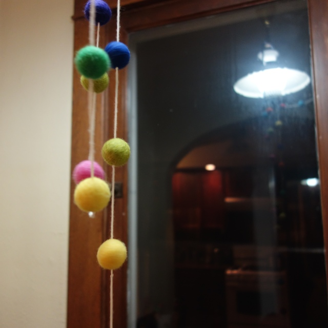 balls and light